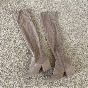 DOLCE VITA TAN OVER THE KNEE BOOTS SIZE 9.5